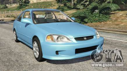 Honda Civic Si 1999 v1.1 for GTA 5
