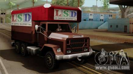 New Flatbed Industrial for GTA San Andreas