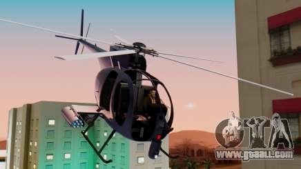 GTA 5 Buzzard for GTA San Andreas
