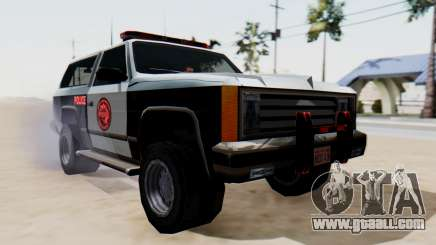 Police Ranger with Lightbars for GTA San Andreas