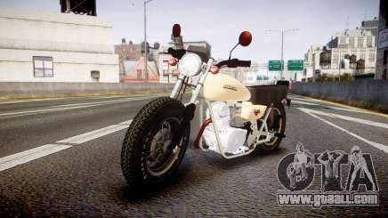 Honda CB-100 for GTA 4
