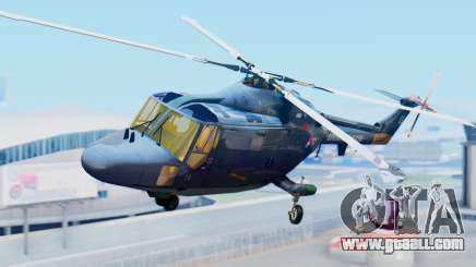 Westland SH-14D Lynx for GTA San Andreas