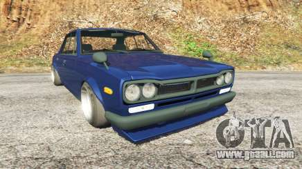 Nissan Skyline 2000 GT-R 1970 v0.2 [Beta] for GTA 5