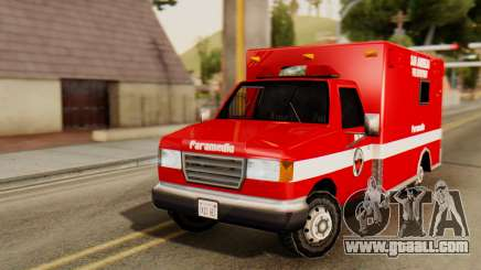 SAFD Ambulance for GTA San Andreas