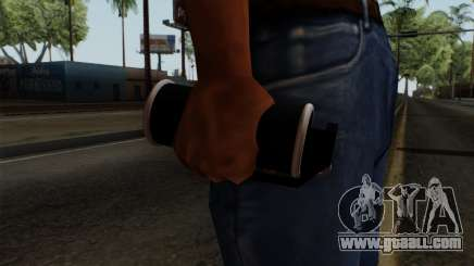 Original HD Tear Gas for GTA San Andreas