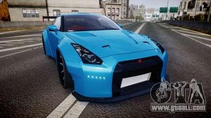 Nissan GT-R (R35) for GTA 4
