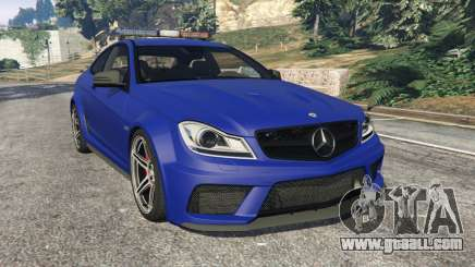 Mercedes-Benz C63 AMG 2012 LCPD for GTA 5