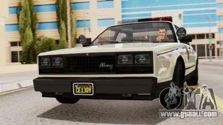 GTA 5 Albany Esperanto Police Roadcruiser IVF for GTA San Andreas