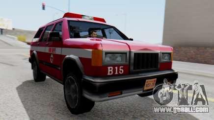 FDSA Fire SUV for GTA San Andreas