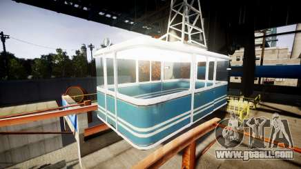 GTA V Cable Car for GTA 4