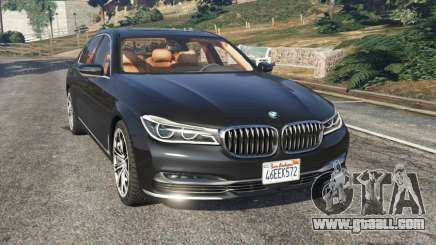BMW 750Li 2016 for GTA 5