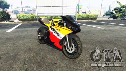 Pegassi Bati 801RR Repsol for GTA 5