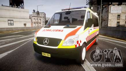 Mercedes-Benz Sprinter NSW Ambulance [ELS] for GTA 4