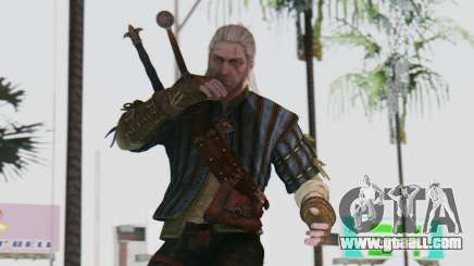 [The Witcher] Geralt for GTA San Andreas