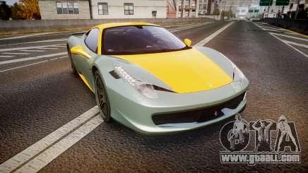 Ferrari 458 Italia Novitec Rosso 2012 for GTA 4