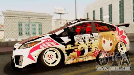 Toyota Prius JDM 2011 Itasha for GTA San Andreas