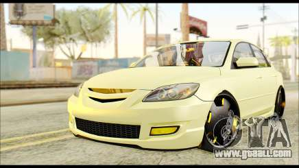 Mazdaspeed 3 Daglow v2 for GTA San Andreas
