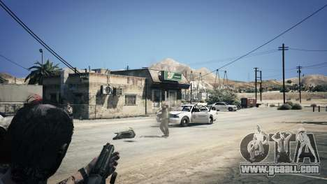 GTA 5 UTAS из Battlefield 4 sixth screenshot