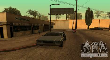 PS2 Graphics for Weak PC for GTA San Andreas