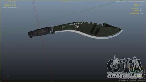 The Kukri for GTA 5