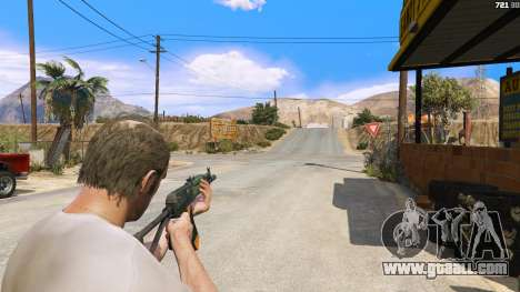 GTA 5 AEK-971 из Battlefield 4 third screenshot