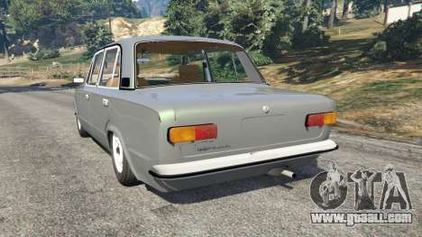 GTA 5 VAZ-2101 v0.1 rear left side view
