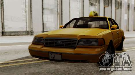 Ford Crown Victoria LP v2 Taxi for GTA San Andreas left view