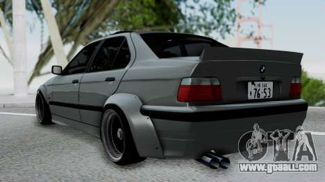 BMW M3 E36 Widebody v1.0 for GTA San Andreas left view