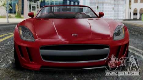 GTA 5 Benefactor Surano v2 IVF for GTA San Andreas inner view