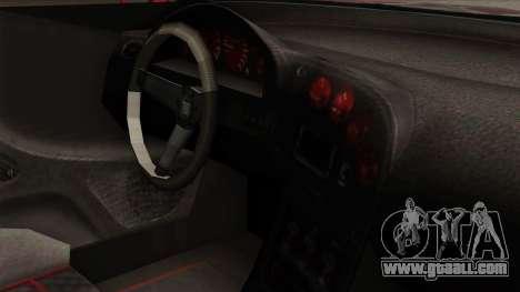 GTA 5 Elegy RH8 for GTA San Andreas back view