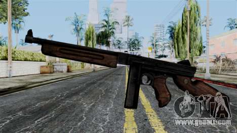 Thompson from Battlefield 1942 for GTA San Andreas