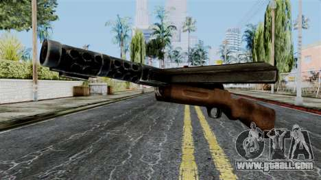 MP18 from Battlefield 1942 for GTA San Andreas