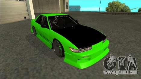 Nissan Silvia S13 Drift Monster Energy for GTA San Andreas left view