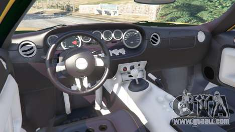 GTA 5 Ford GT 2005 v1.1 steering wheel
