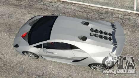 GTA 5 Lamborghini Sesto Elemento v0.5 back view