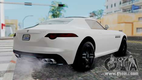 GTA 5 Benefactor Surano v2 for GTA San Andreas left view