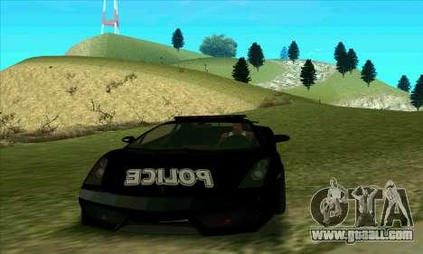 Federal Police Lamborghini Gallardo for GTA San Andreas
