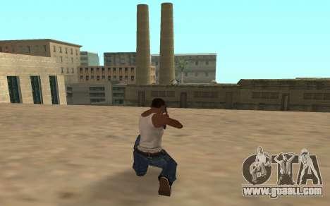 Shotgun with a tiger cub for GTA San Andreas second screenshot