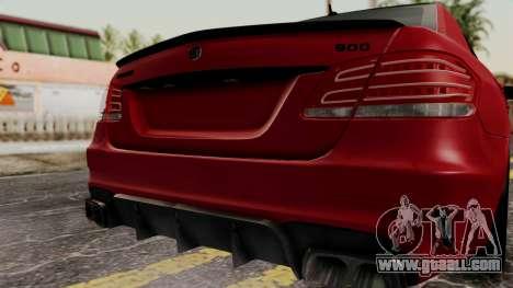 Brabus B900 for GTA San Andreas back view