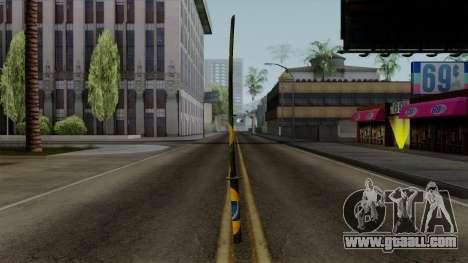 Brasileiro Katana v2 for GTA San Andreas second screenshot