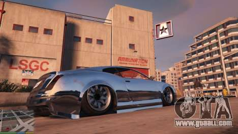 GTA 5 Air suspension v1.0 fourth screenshot