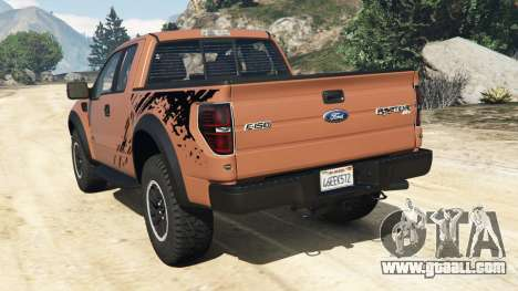 Ford F-150 SVT Raptor 2012 for GTA 5