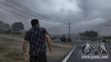 Realistic Thunder and Wind Sound FX for GTA 5