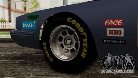 Pontiac GranPrix Hotring 1981 IVF for GTA San Andreas back left view