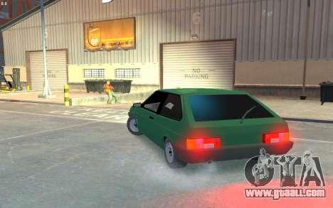 VAZ 2108 for GTA 4 back left view