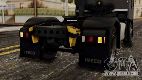 Iveco EuroStar Low Cab for GTA San Andreas bottom view