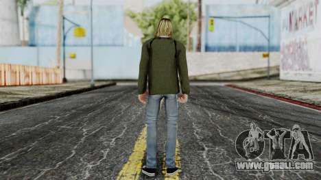 Kurt Cobain for GTA San Andreas third screenshot