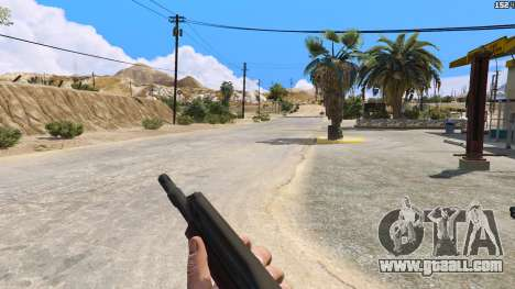 GTA 5 SAIGA from Battlefield 4 second screenshot