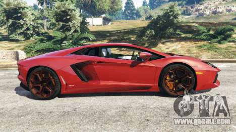 Lamborghini Aventador LP700-4 2012 for GTA 5