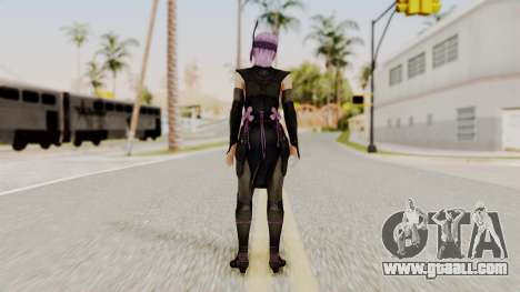 DOA 5 Ayane Ninja for GTA San Andreas third screenshot